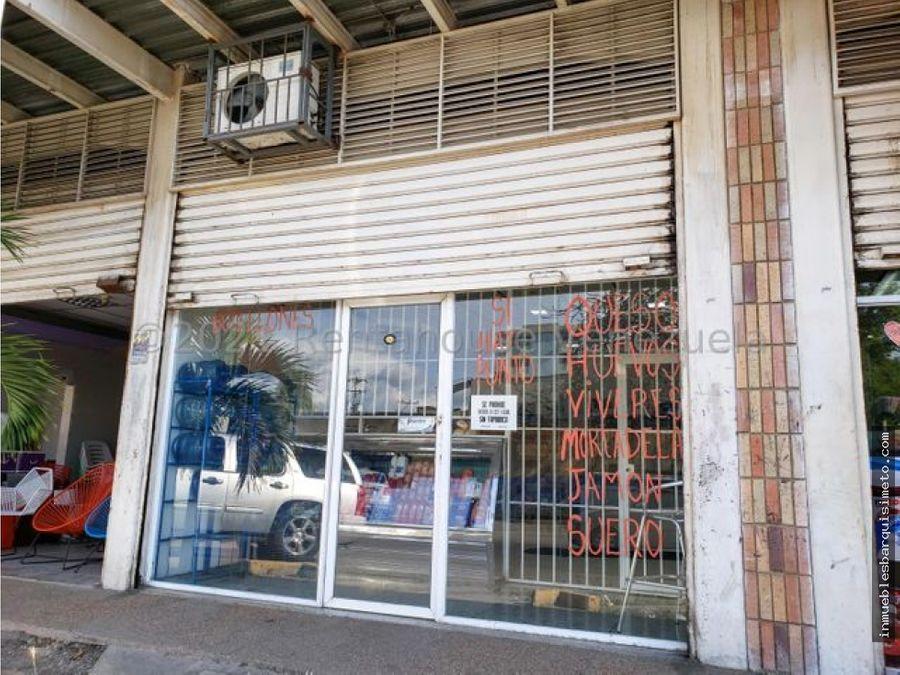 fondo de comercio en venta cabudare centro 21 21738 nds