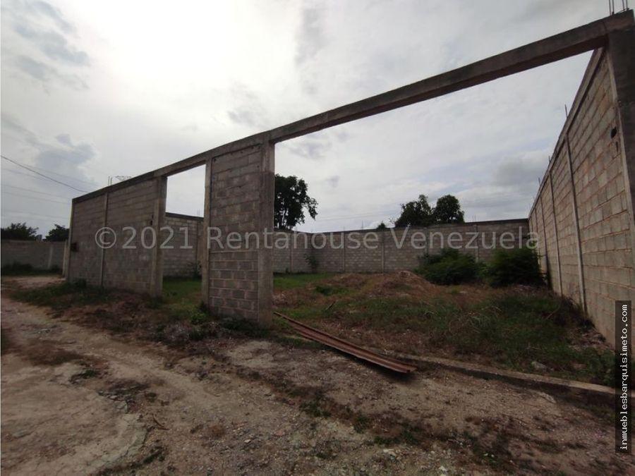 terreno en venta pjgbastidas cabudare 21 22357 nds