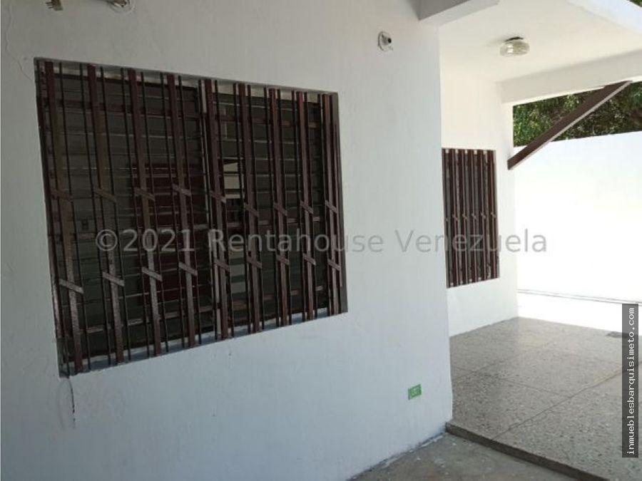casa comercial en alquiler oeste barquisimeto 22 3566 jcg