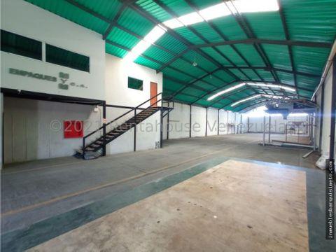 galpon en alquiler zona industrial barquisimeto 22 5073 jcg