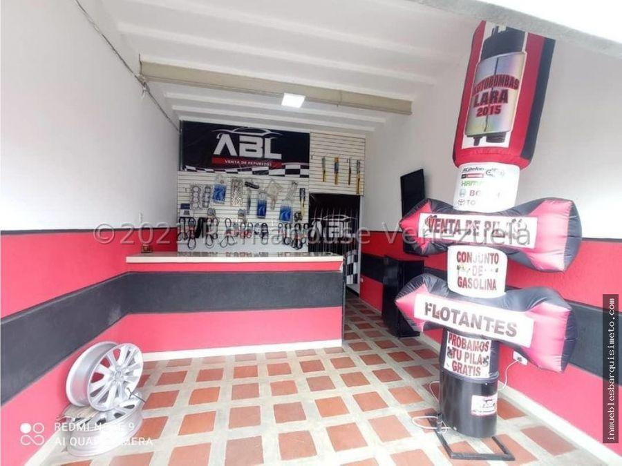 fondo de comercio en venta barquisimeto centro 21 23125 nds
