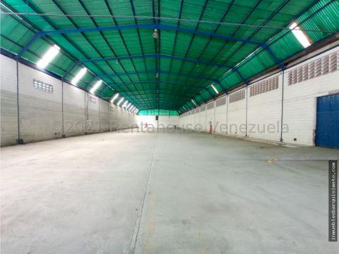 galpon en alquiler zona industrial barquisimeto 22 5655 jcg