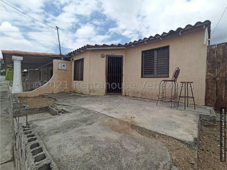 casa en venta el cuji barquisimeto 21 20996 nds