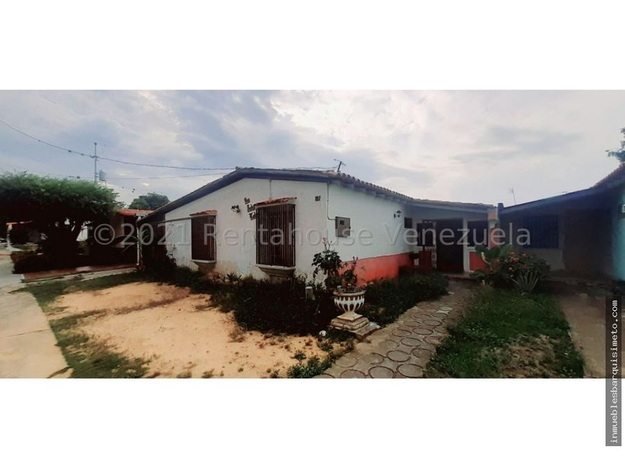 casa en venta el valle cabudare 21 21493 nds