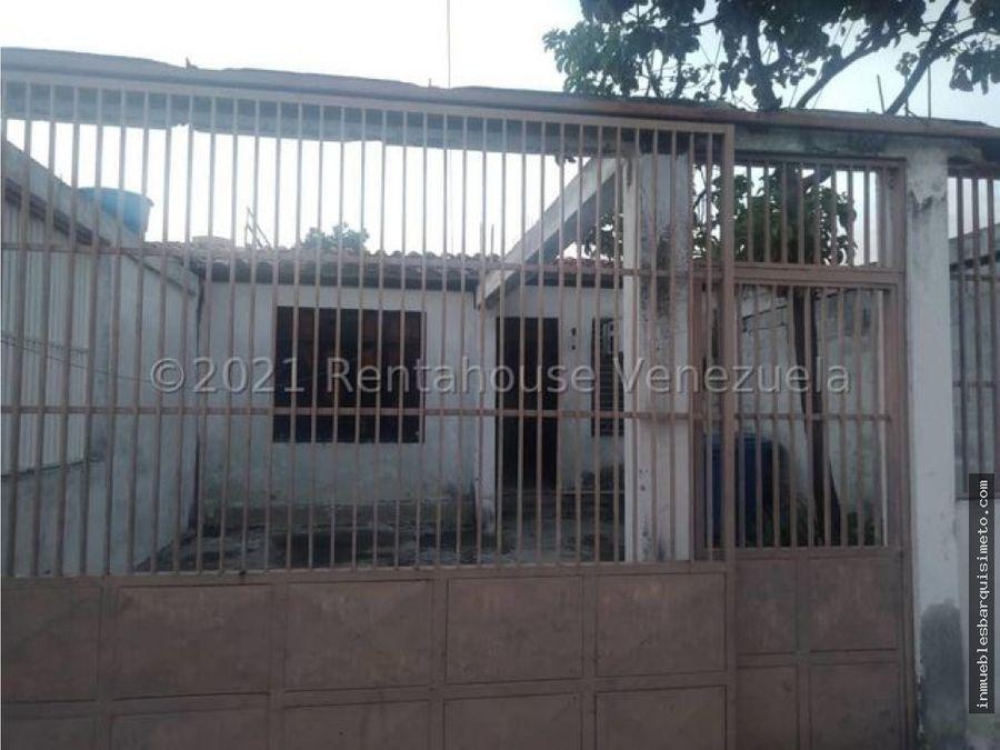 casa en venta el cuji barquisimeto 21 23039 nds