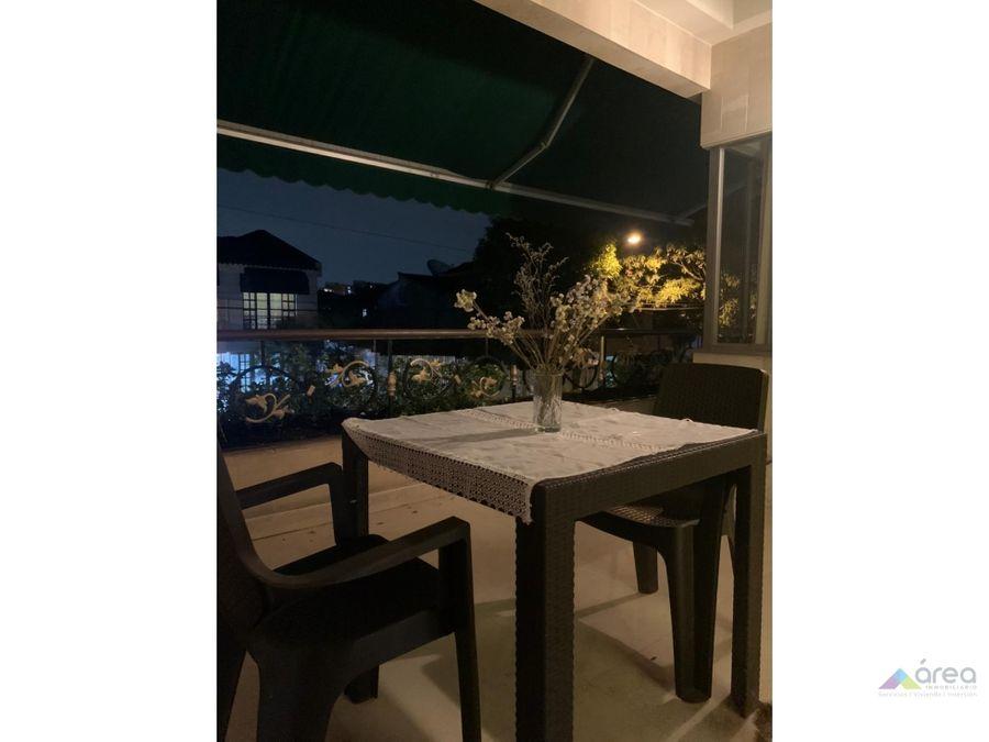 exclusivo apartaestudio amoblado en ciudad jardin sur de cali