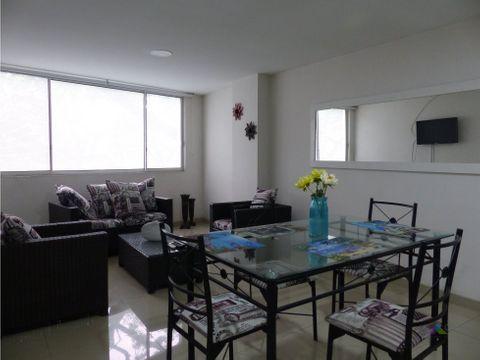 apartamento amoblado en chipichape norte de cali