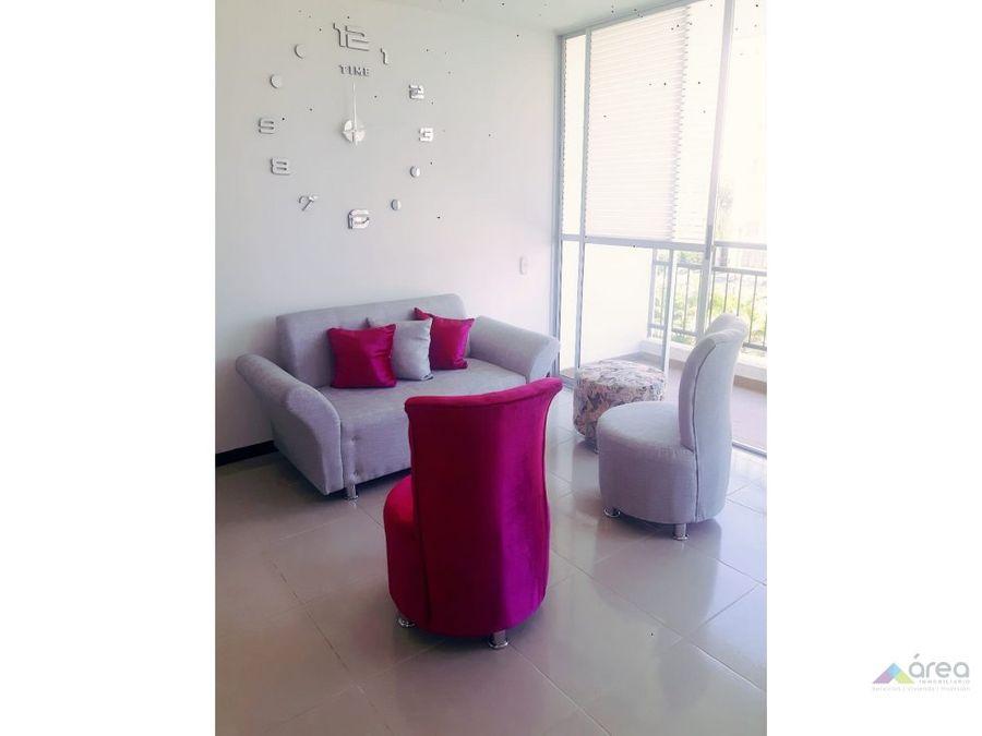 hermoso apartamento amoblado bochalema