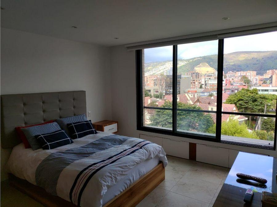 espectacular apartaestudio con terraza privada cedritos bogota