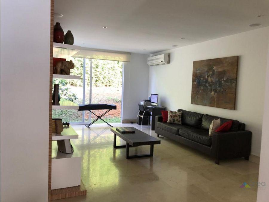 hermosa casa en condominio un nivel ciudad jardin