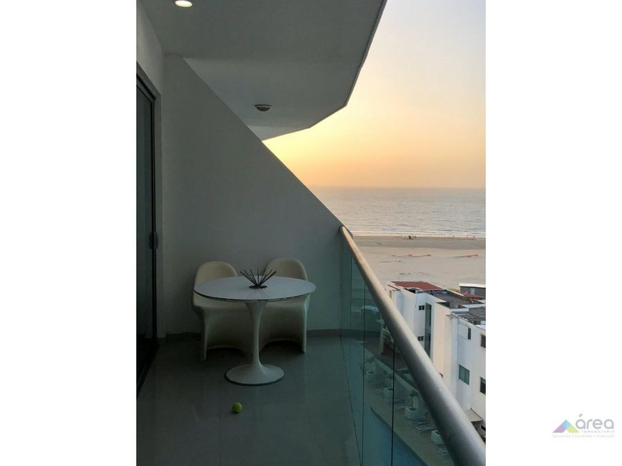 apartamento amoblado con vista al mar cartagena
