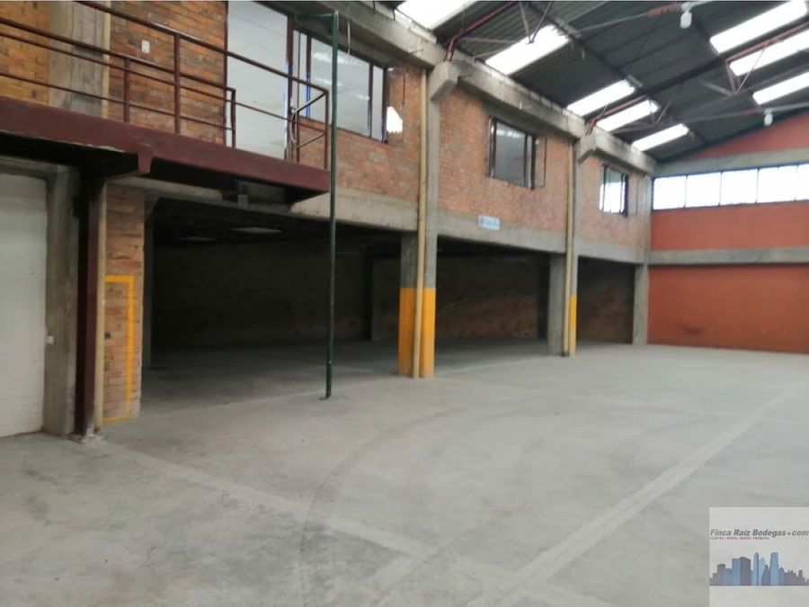 bodega parque industrial calle 26