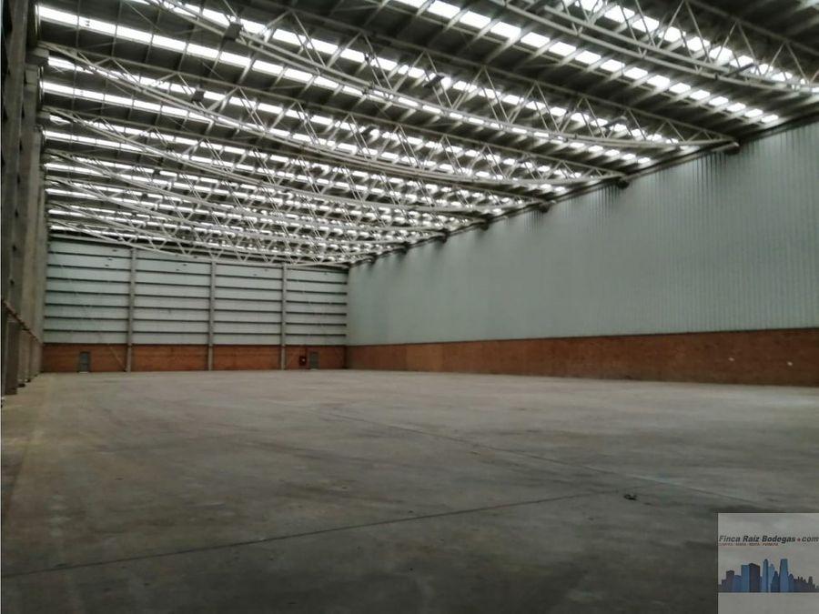 bodega parque industrial mosquera regimen zona franca