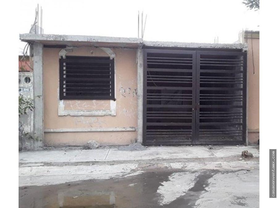casa en venta col real de palmas zuazua