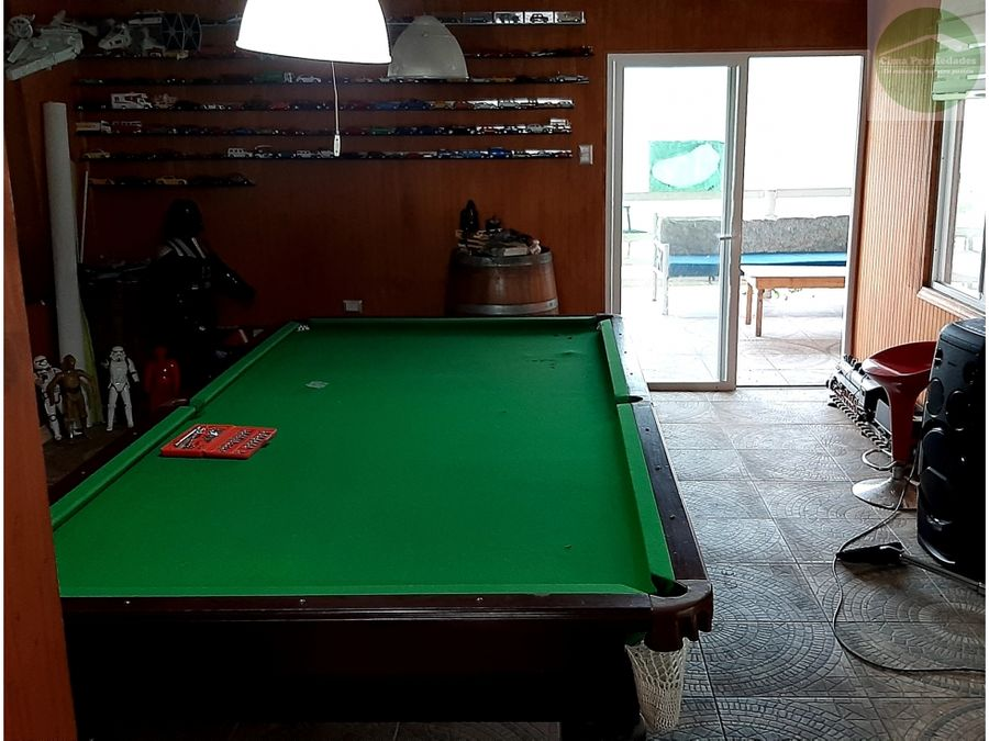 venta parcela equipada amoblada con piscina santa juana