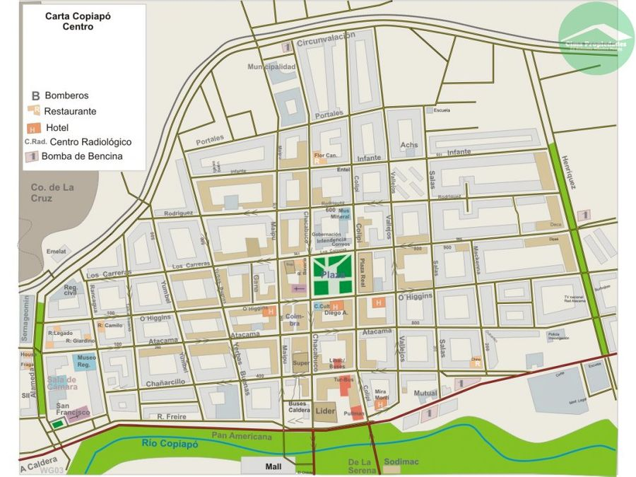 terreno con anteproyecto aprobado centro copiapo