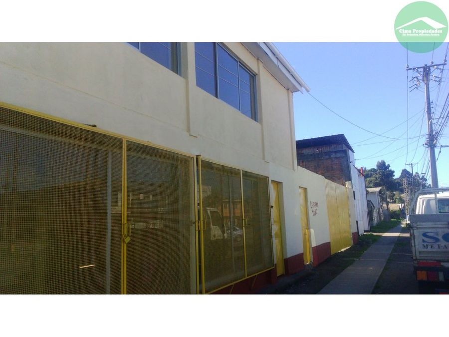 arriendo talcahuano local 140m2 terreno 400m2
