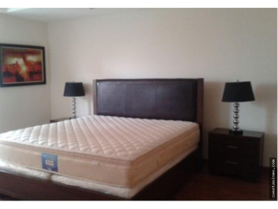 apartamento amueblado renta en zona 14 directo