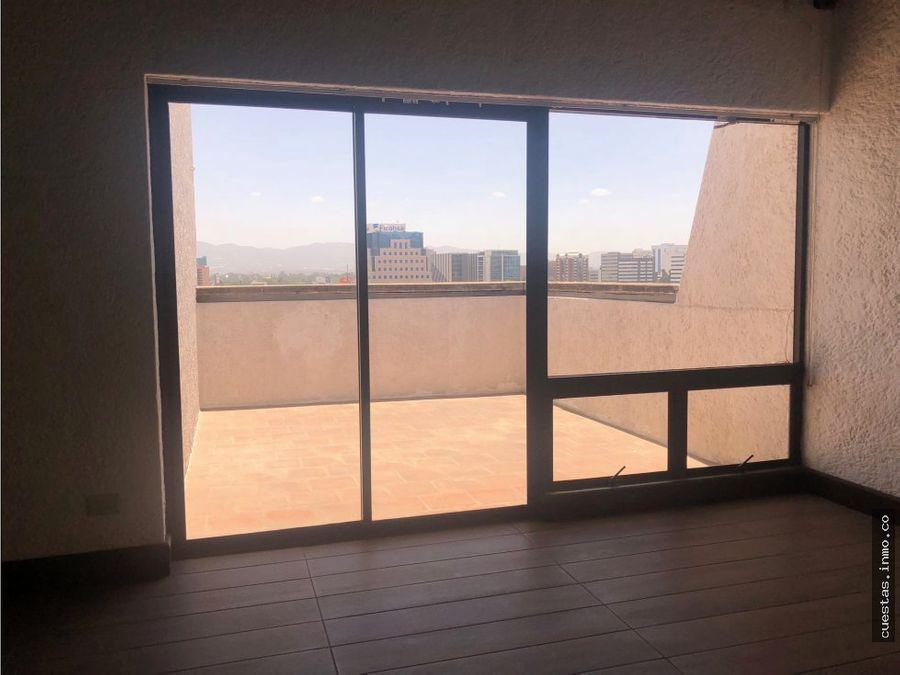 apartamento en alquiler zona 10 1