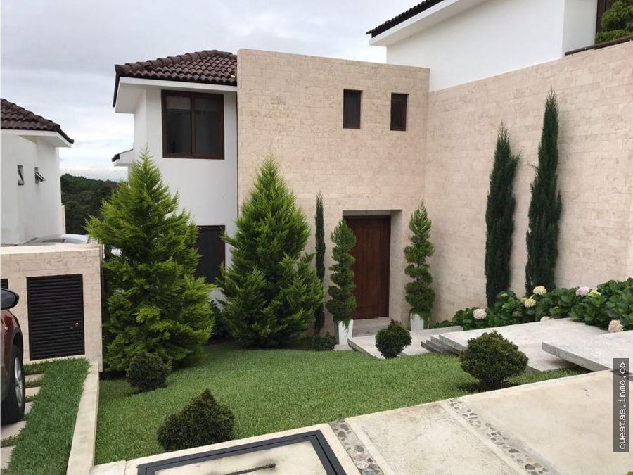 casa en venta lomas de san isidro zona 16 1