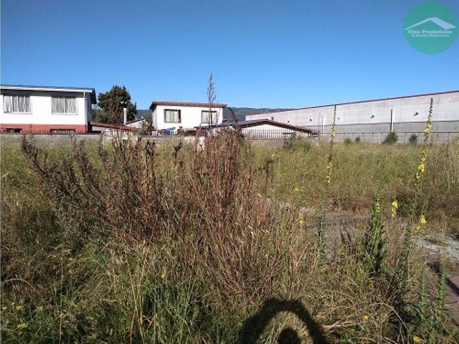 arriendo terreno chiguayante amplio de 3350 m2