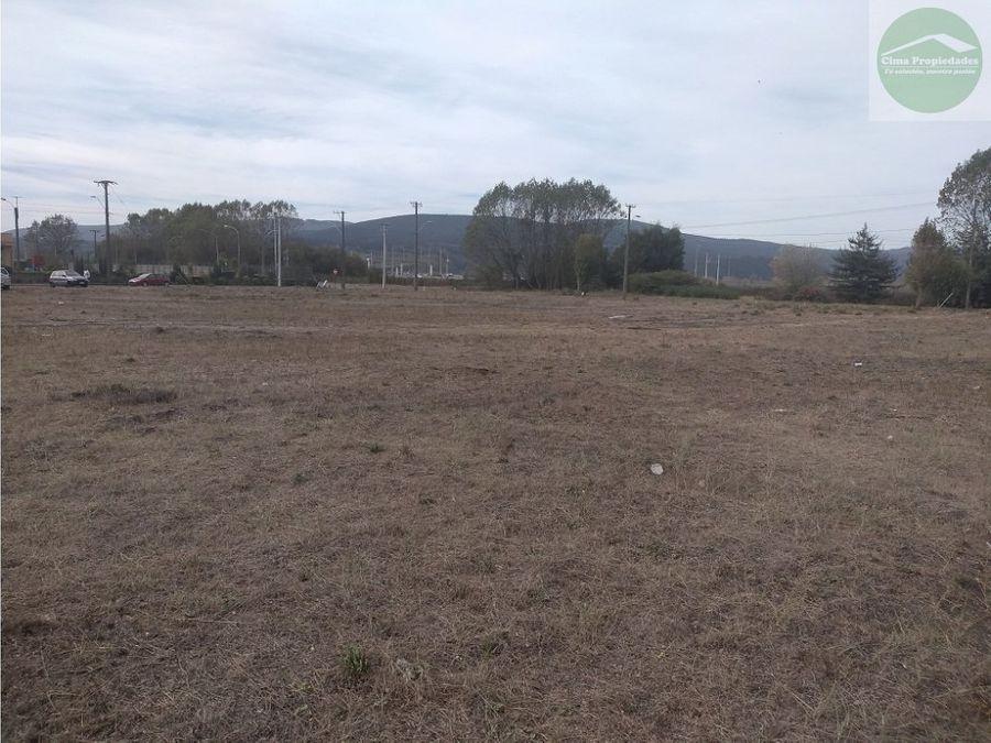 venta terreno 7550 m2 parque industrial coronel