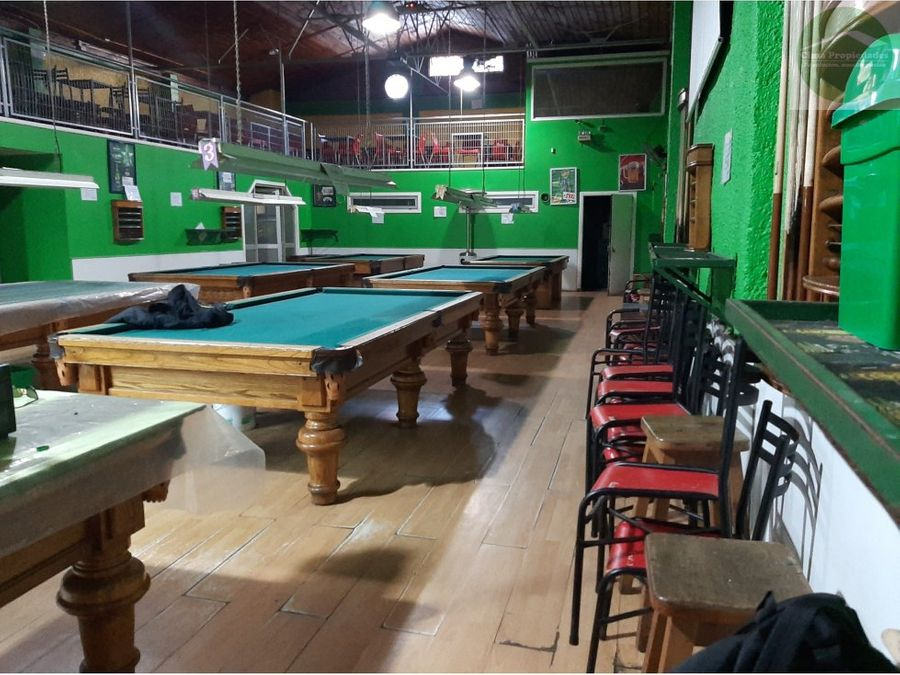 arriendo gran local comercial pool hall 8 mesas plaza peru