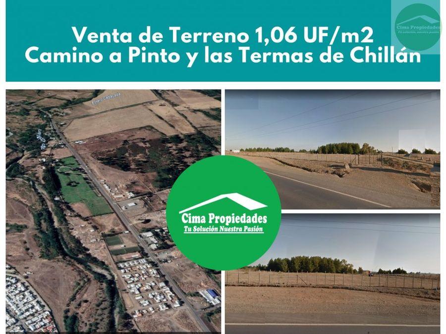 terreno en venta chillan camino pinto 106 ufm2