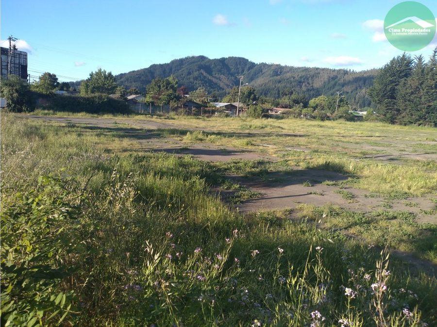 arriendo terreno chiguayante esquina de 10000 m2