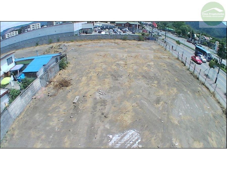 terreno arriendo en chiguayante lado supermercado