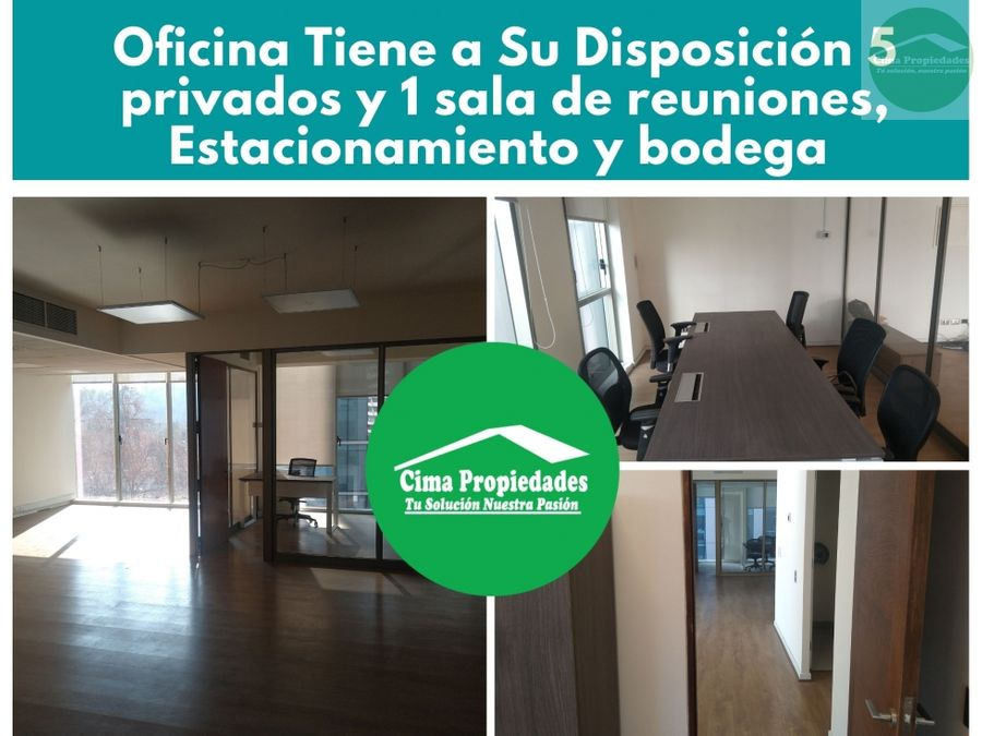 oficinas en arriendo providencia santiago