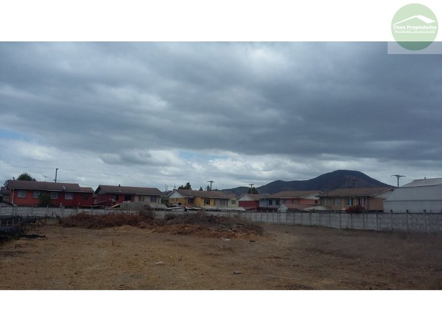 terreno en talagante centro comercialhabitacional