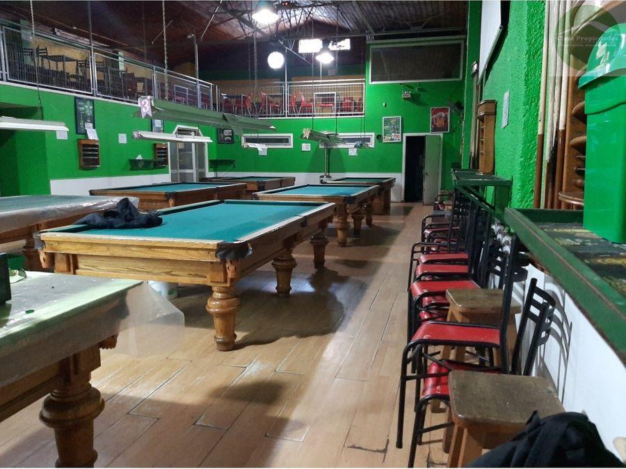 gran local comercial pool hall 8 mesas en plaza peru