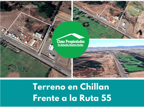 terreno en chillan frente a la ruta 55