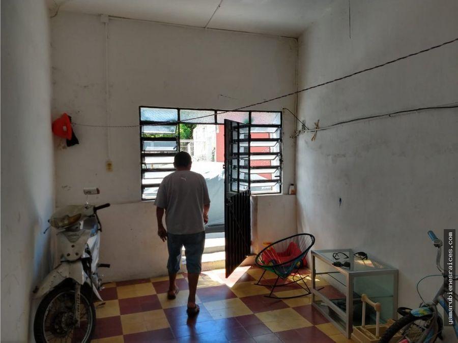 venta de casa en champoton centro