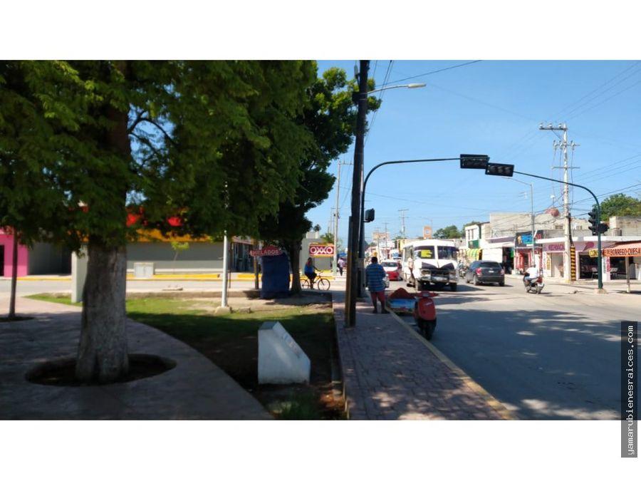 venta de terreno comercial 2100 m2 champoton zona economica