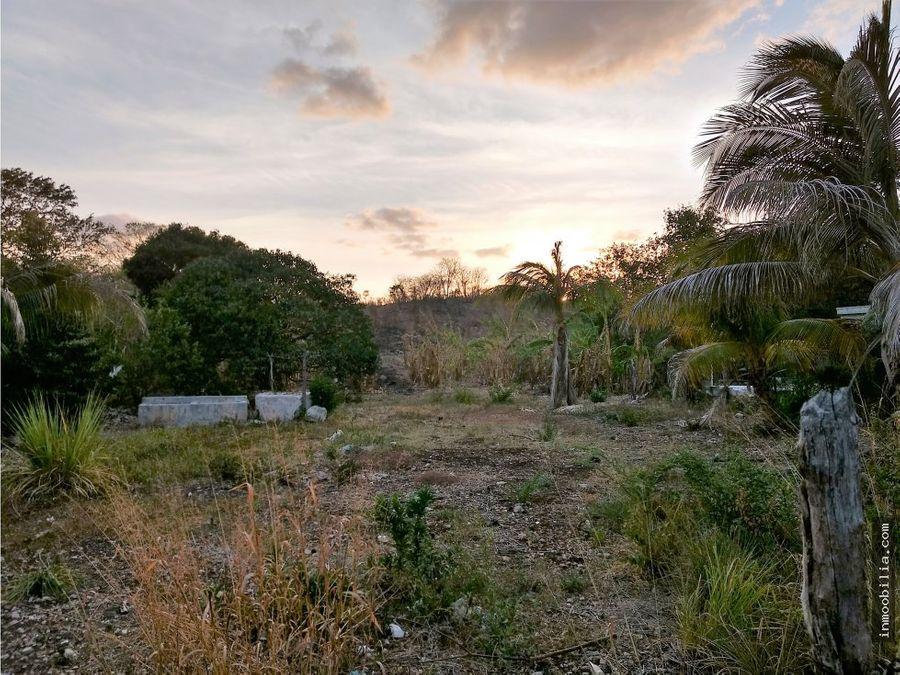 venta de terreno en seybaplaya champoton 3660 m2