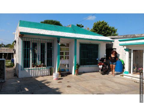 venta de bonita casa en champoton buena ubicacion