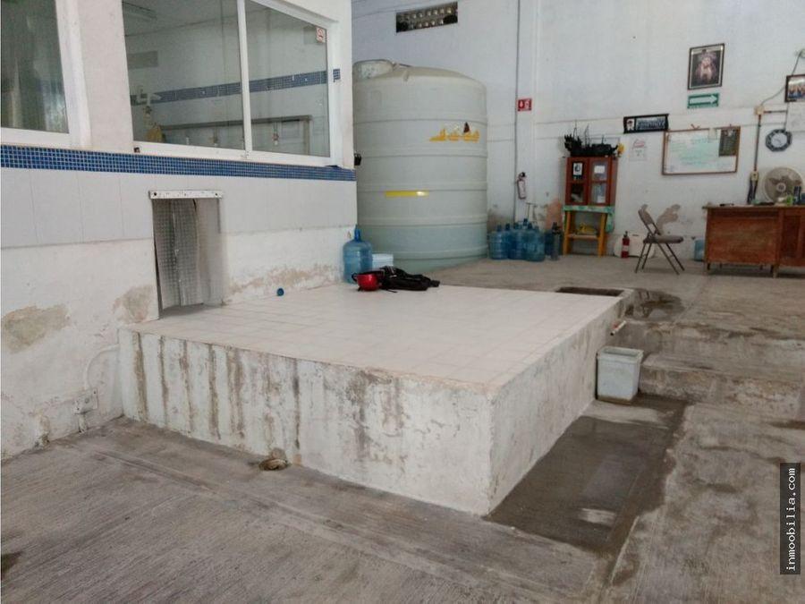 venta o renta de bodega en champoton de 625 m2
