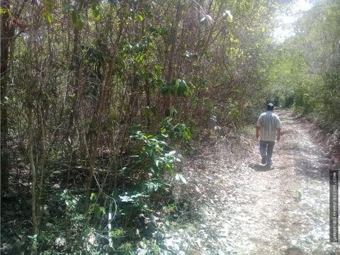 vendo terreno rustico en el poblado de nilchi