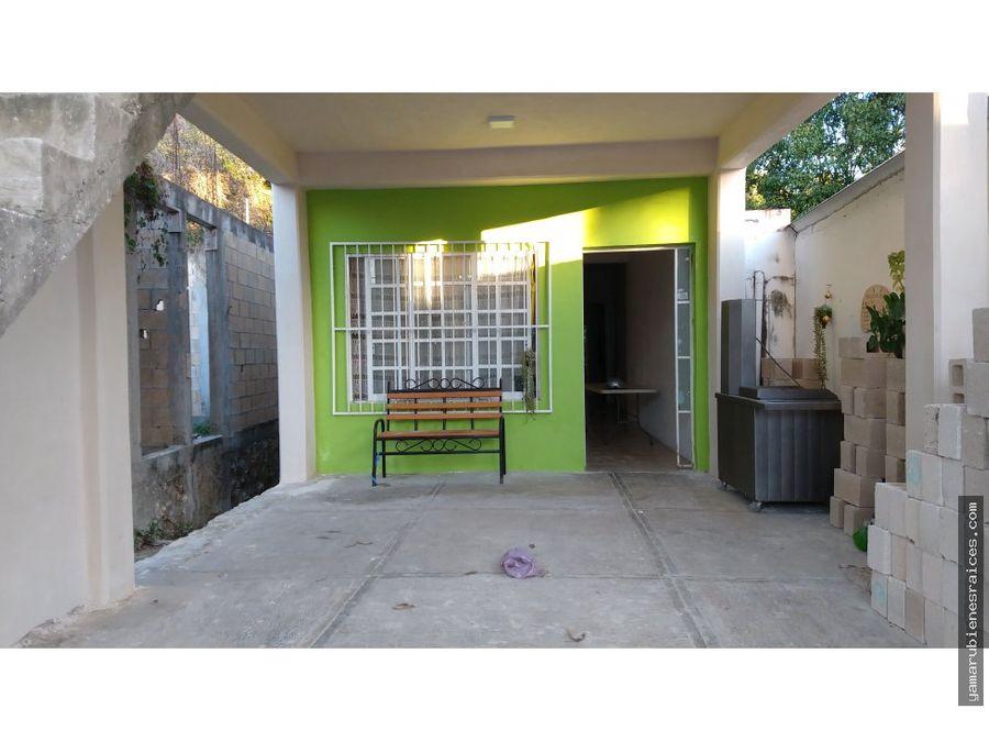 venta de casa en el centro de champoton
