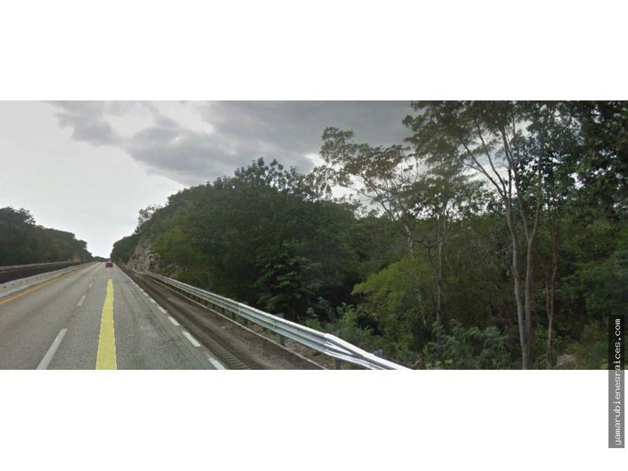 terreno en autopista champoton campeche