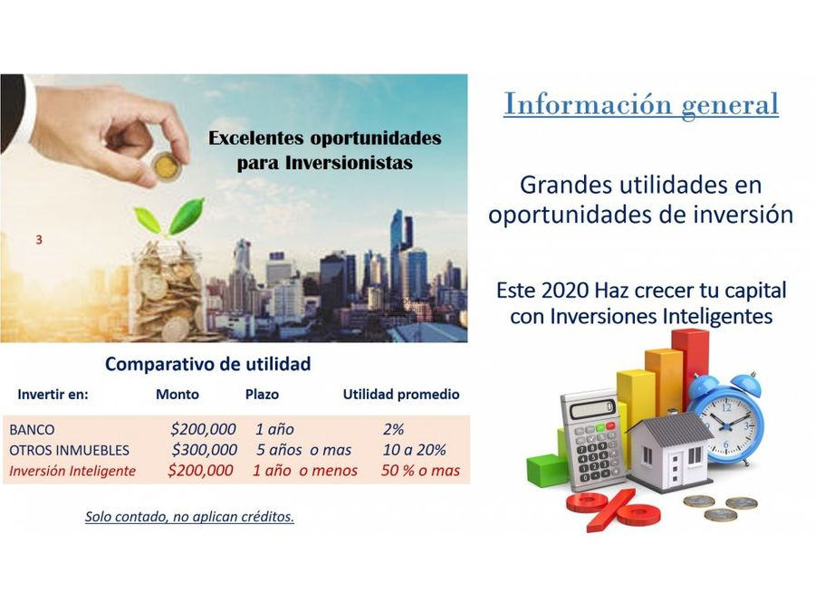 oportunidad de inversion solo contado hacienda real de tultepec