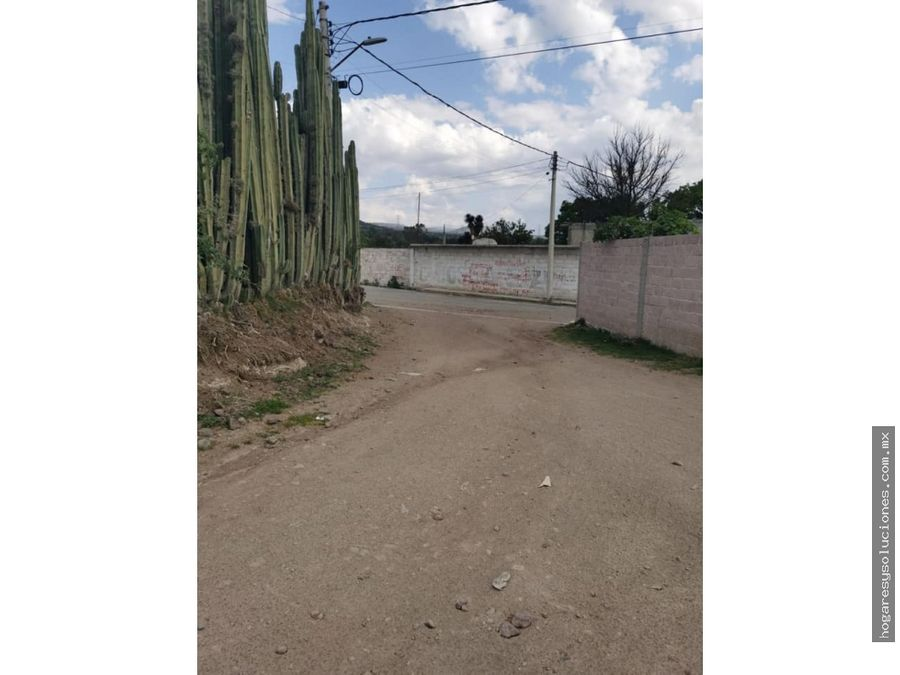 terreno en venta san martin ahuatepec otumba