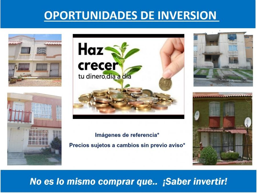 oportunidad de inversion solo contado los heroes tecamac