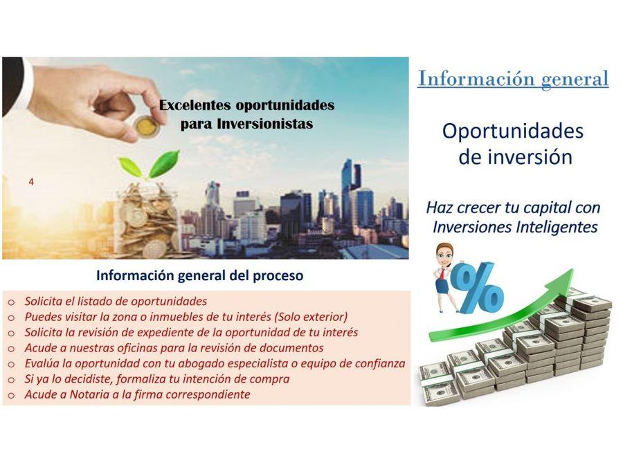 oportunidad de inversion solo contado el bosque tultepec