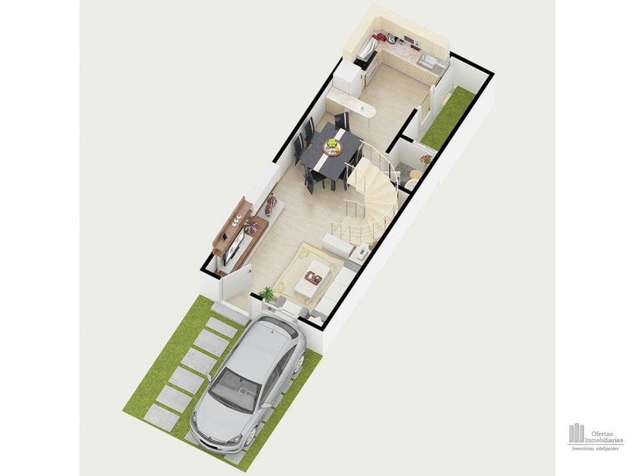 casa muy amplia en 3 niveles