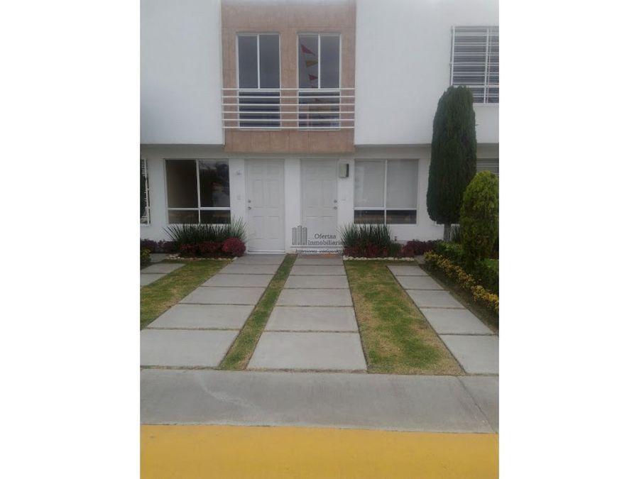 linda casa con balcon en tecamac