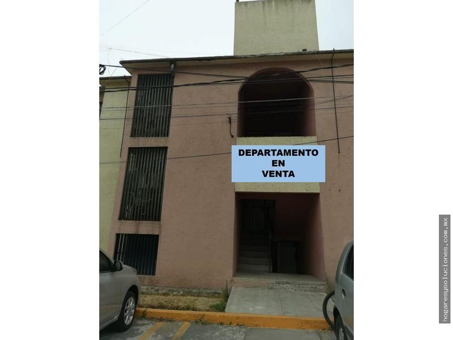 departamento en venta colonial coacalco
