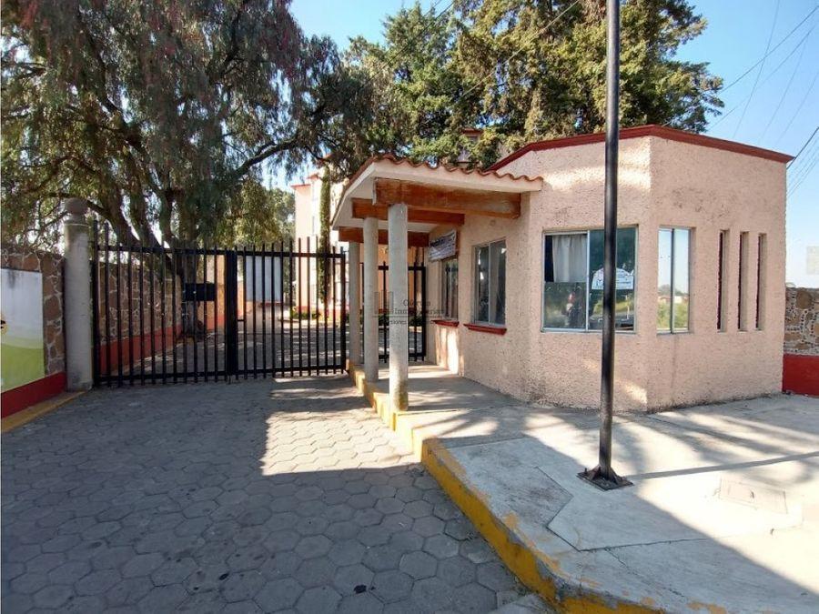 ofertaaa departamento en parque san lorenzo zumpango